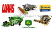 Поставка запчастей для импортной сельхозтехники New Holland, Claas, John